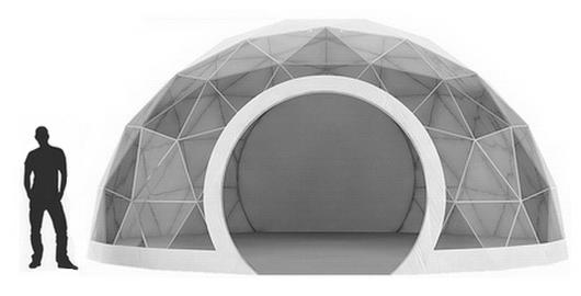 Dome Dôme tente ronde