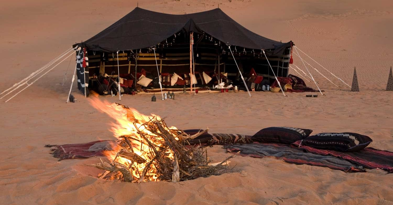 tente bivouac touareg sahara maroc tradition