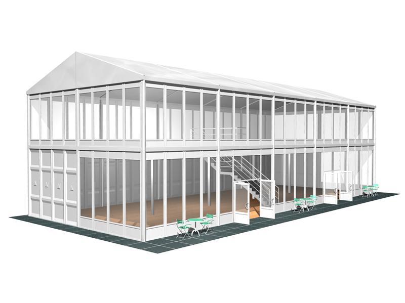 structure à étages