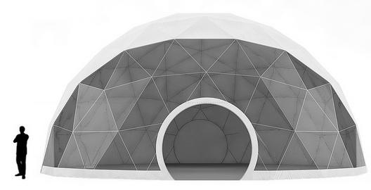 location dome tente arrondi rond Maroc